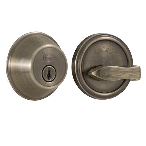 Weslock Essentials 371 Single Cylinder Deadbolt