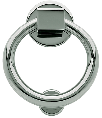 Baldwin 0195 Ring Knocker in Polished Chrome (260)