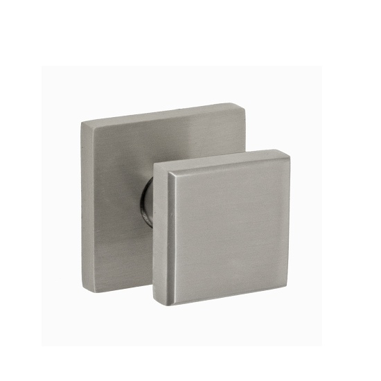 Fusion Contemporary Cast Stainless Steel 3050 Cast Door Knob with Square Rose BS