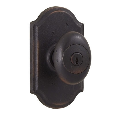 Weslock Durham 7340M Keyed Entry with Premiere Rose Oil Rubbed Bronze