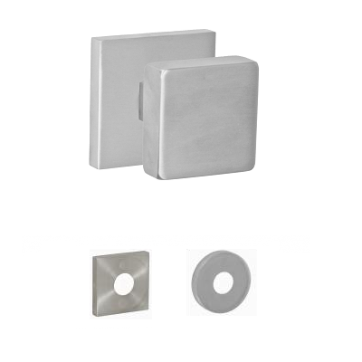 Fusion Contemporary Stainless Steel 2040 Door Knob Brushed Stainless Steel (BSS)