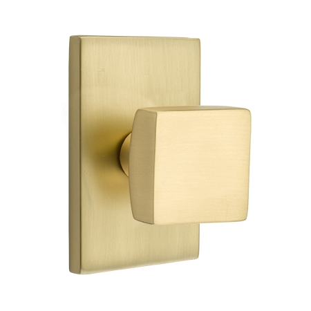 Emtek Square Door Knob Set Low Price Door Knobs