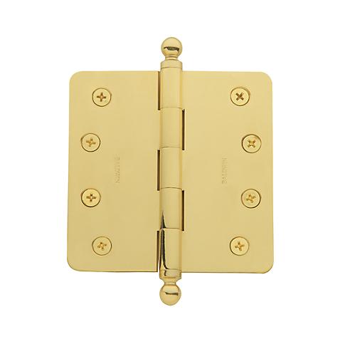 Baldwin 1080 Solid Brass Ball Finial Polished Brass (030)