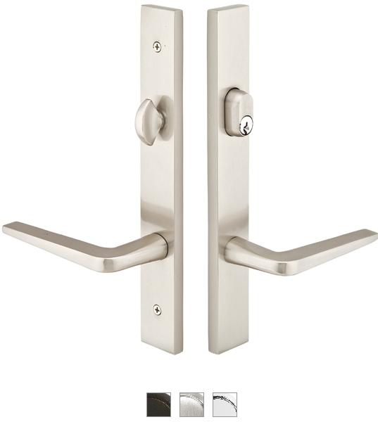 Emtek Door Configuration 3 Brass Modern Style Multi Point