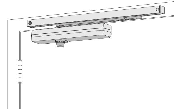Lcn 1461t surface mount track door closer low price door for 1461 lcn door closer