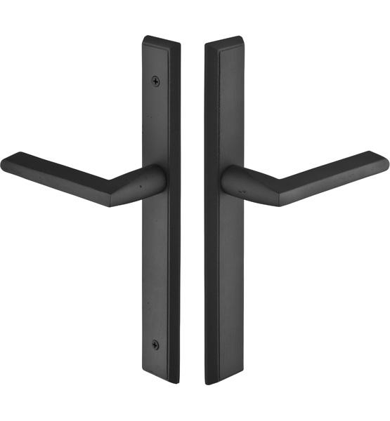 Emtek Door Configuration 5 Sandcast Bronze Rectangular