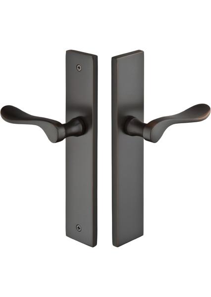 Emtek Door Configuration 5 Brass Modern Euro Style Multi