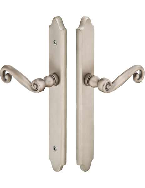 Emtek 1672 Configuration #6 Brass CONCORD Style Multi-Point Trim for Patio Doors