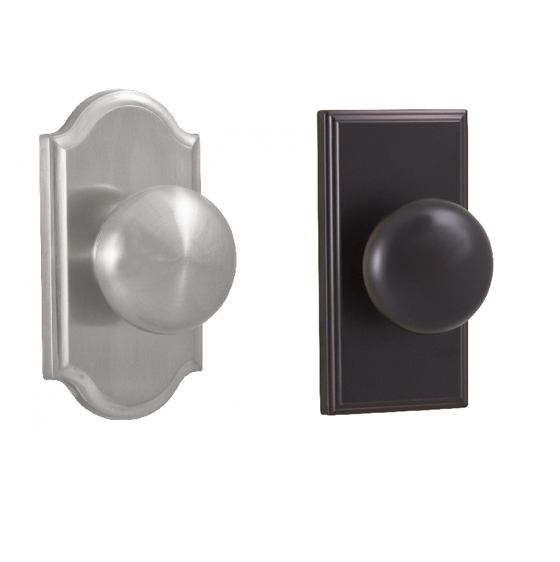 Weslock 1705I, 3705I Impresa Dummy Knob with Premiere and Woodward Rose