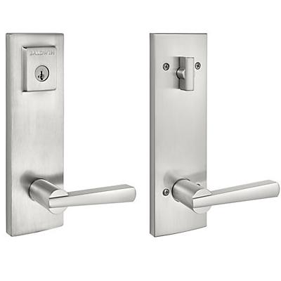 Baldwin Spyglass Lever | Baldwin Handlesets | Front Door Locks and ...