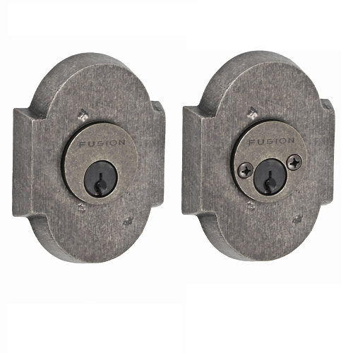 Fusion Sandcast Bronze Small Scalloped Deadbolt 200-A3-AXP