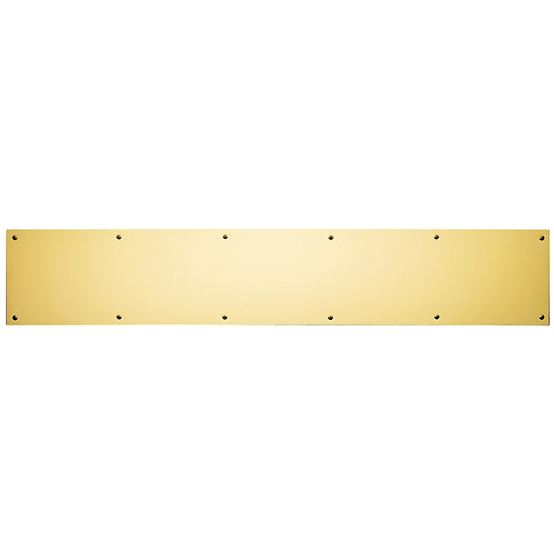 Baldwin 2000 Solid Brass Kick Plate 6
