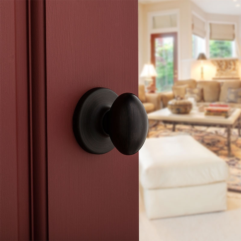 Kwikset 200ao Aliso Passage Knob Set Low Price Door Knobs