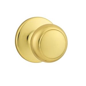 Kwikset 200CV Passage 3 Polished Brass