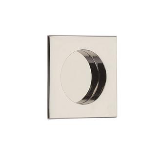 Emtek 2213 Square Flush Pull Polished Nickel