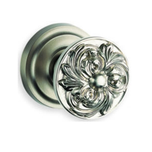 Omnia 232 Knob Latchset Satin Nickel (US15)