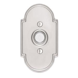 Emtek 2408 Door Bell Button w/#8 Rose Satin Nickel (US15)