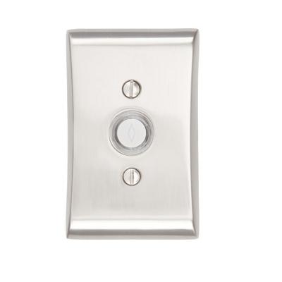 Emtek 2460 Door Bell Button w/Neos Rose Satin Nickel (US15)