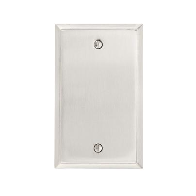 Emtek 29151 Colonial Blank Plate Satin Nickel (US15)