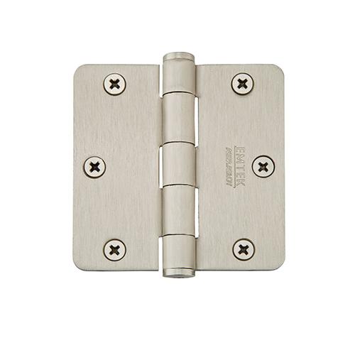 Emtek 3 1/2 Steel residential duty radius corner 91023