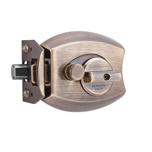 Ultimate™ Lock System 3000 Series Deadbolt in Antique Brass