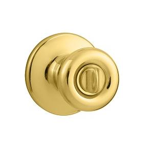 Kwikset 300T Privacy 3 Polished Brass