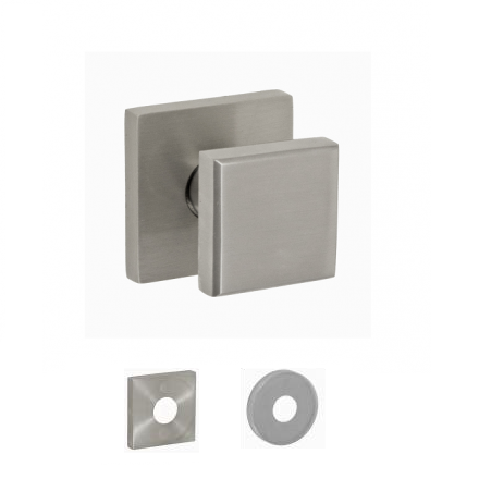 Fusion Contemporary Cast Stainless Steel 3050 Cast Door Knob 05