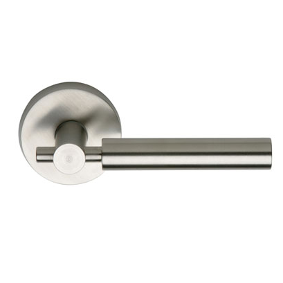 Omnia 32 Stainless Steel Door Lever Latchset Brushed Stainless Steel (US32D)