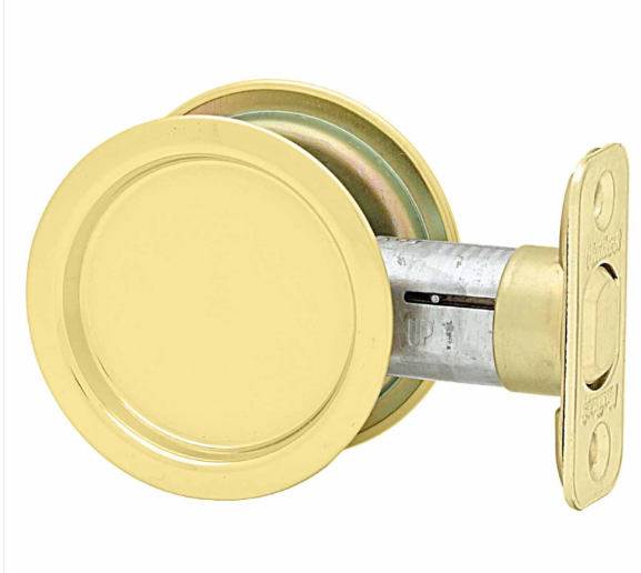 Kwikset Round Passage Pocket Door Lock Low Price Door Knobs