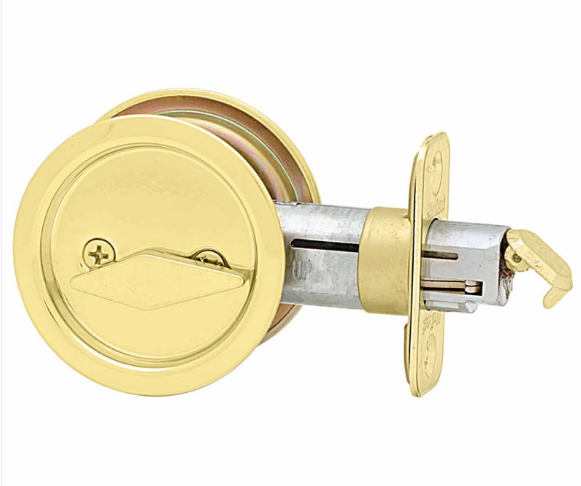 Kwikset Round Privacy Pocket Door Lock Low Price Door Knobs