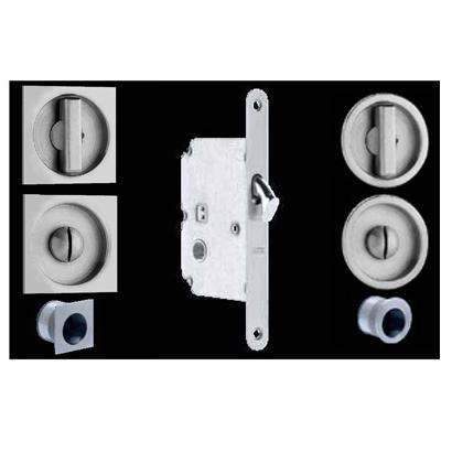 Omnia 3910, 3911 Sliding Door Lock for Pocket Doors
