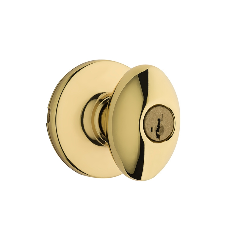 Kwikset 400AO SMT Aliso SmartKey Entry Door Knob Set Low Price