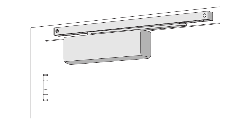 Lcn 4013t Surface Mount Track Door Closer Low Price Door