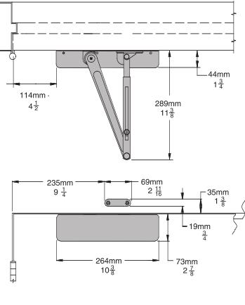 Lcn 4031 Surface Mount Door Closer Low Price Door Knobs