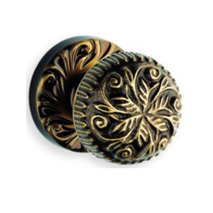 Omnia 417 Knob Latchset Shaded Bronze (SB)