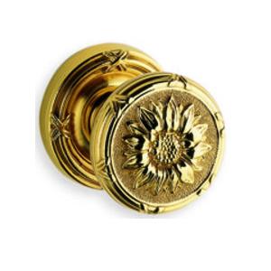 Omnia 440 Knob Latchset Shaded Bronze (SB)