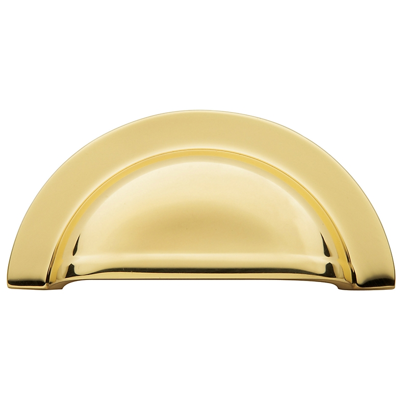Baldwin Cabinet Pull (4423, 4424) shown in Polished Brass (030)