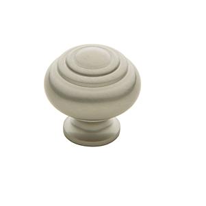 Baldwin Ring Deco Cabinet Knob (4445, 4446, 4447) shown in Satin Nickel (150)