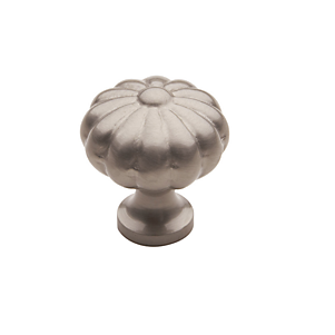 Baldwin Melon Cabinet Knob (4457, 4458, 4459) in Satin Nickel (150)