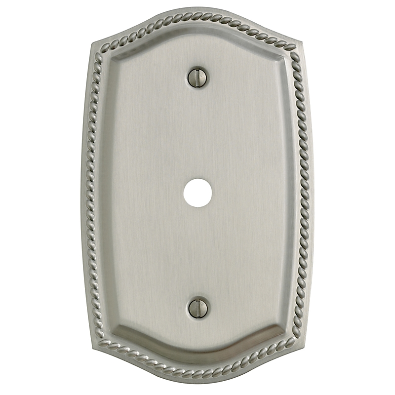Baldwin 4795 Rope Design Cable Cover Switch Plate Low