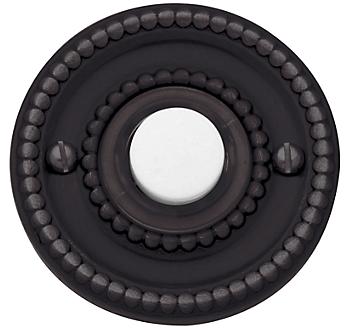 Baldwin 4850 Beaded Bell Button in Venetian Bronze (112)