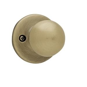 Kwikset 488P Dummy 5 Antique Brass
