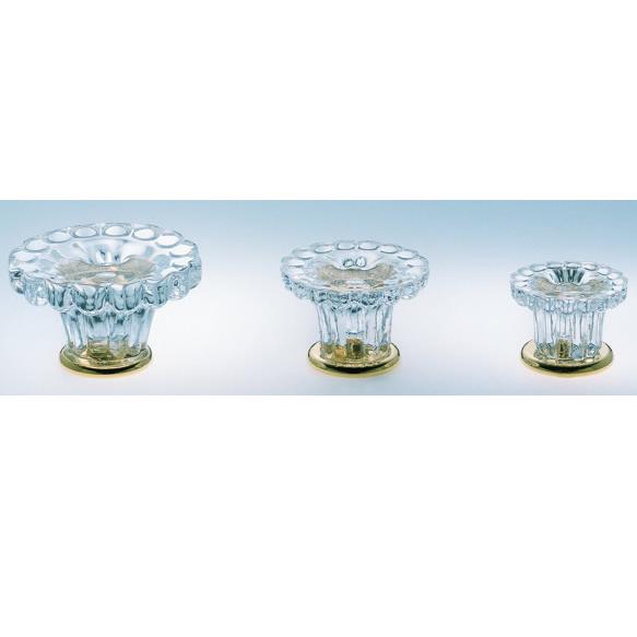 Omnia 4909 Crystal Cabinet Hardware