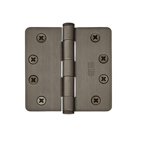Emtek 4 1/2 Steel heavy duty radius corner 92024