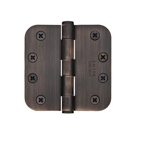 Emtek 4 1/2 Steel heavy duty radius corner 92034