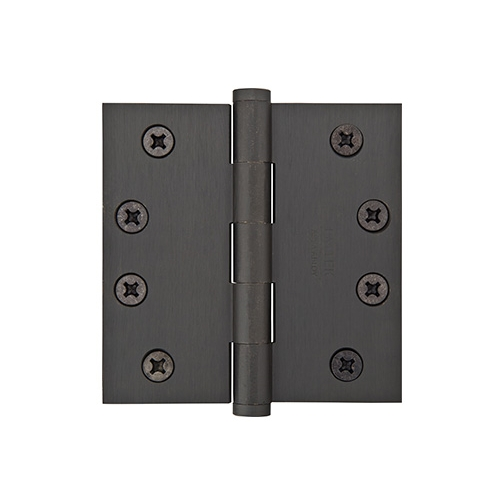 Emtek 3.5 x 3.5 Solid Brass Square Corner Heavy Duty 96214