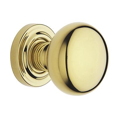 Baldwin Estate 5000 door Knob Set Lifetime Polished Brass (003)