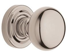 Baldwin Estate 5030 door Knob Set Lifetime Polished Nickel (055)