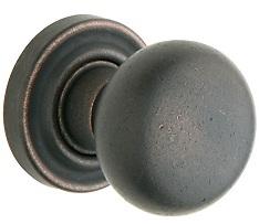 Baldwin Estate 5030 door Knob Set Distressed Oil Rubbed Bronze (402)