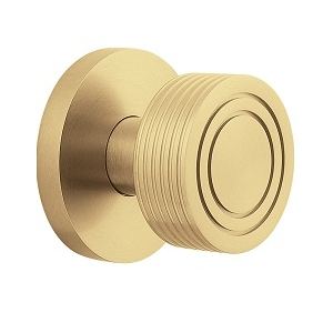 Charming Baldwin Estate 5045 Door Knob Set Satin Brass (040)